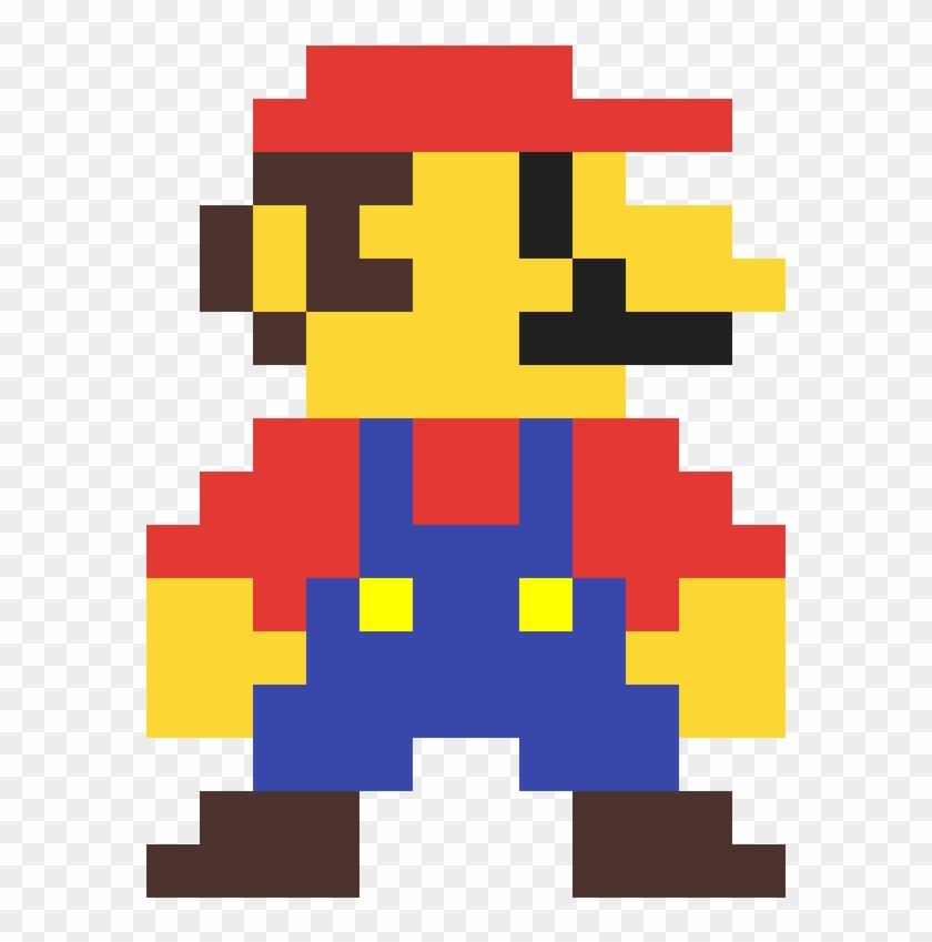 Mario 8 Bits Retro 8 Bit Pixel Mario Hd Png Download