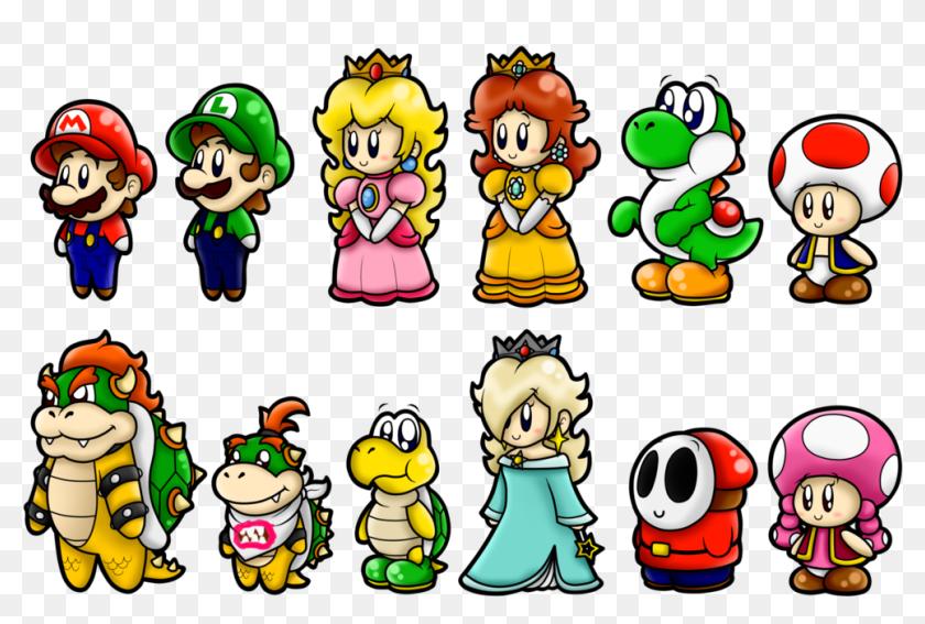 Super Mario Cute Characters Cute Super Mario Characters Hd Png