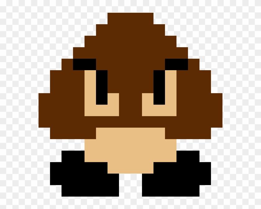 Super Mario Bros Goomba Goomba Minecraft Pixel Art Hd Png