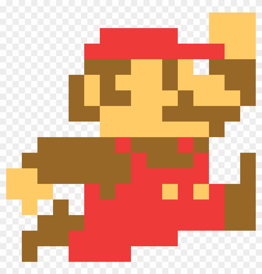 Super Mario Png 8 Bit Mario 8 Bit Jump Transparent Png