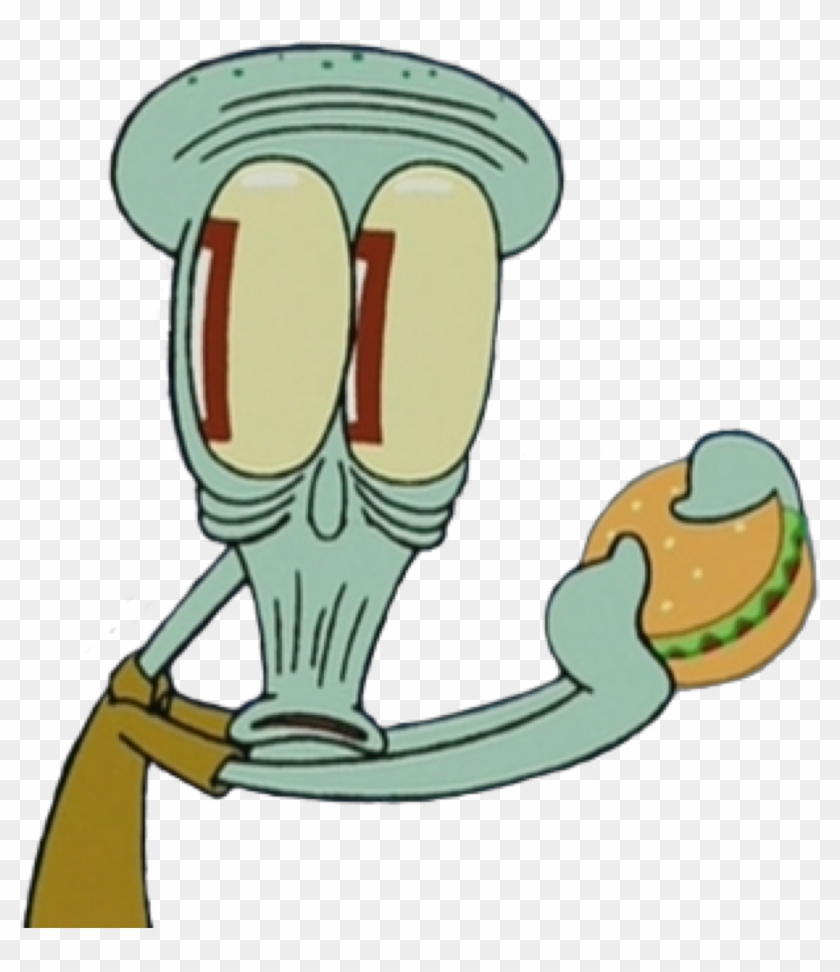 Spongebob Squidward Mood Reaction Face Shocked Cartoon Meme