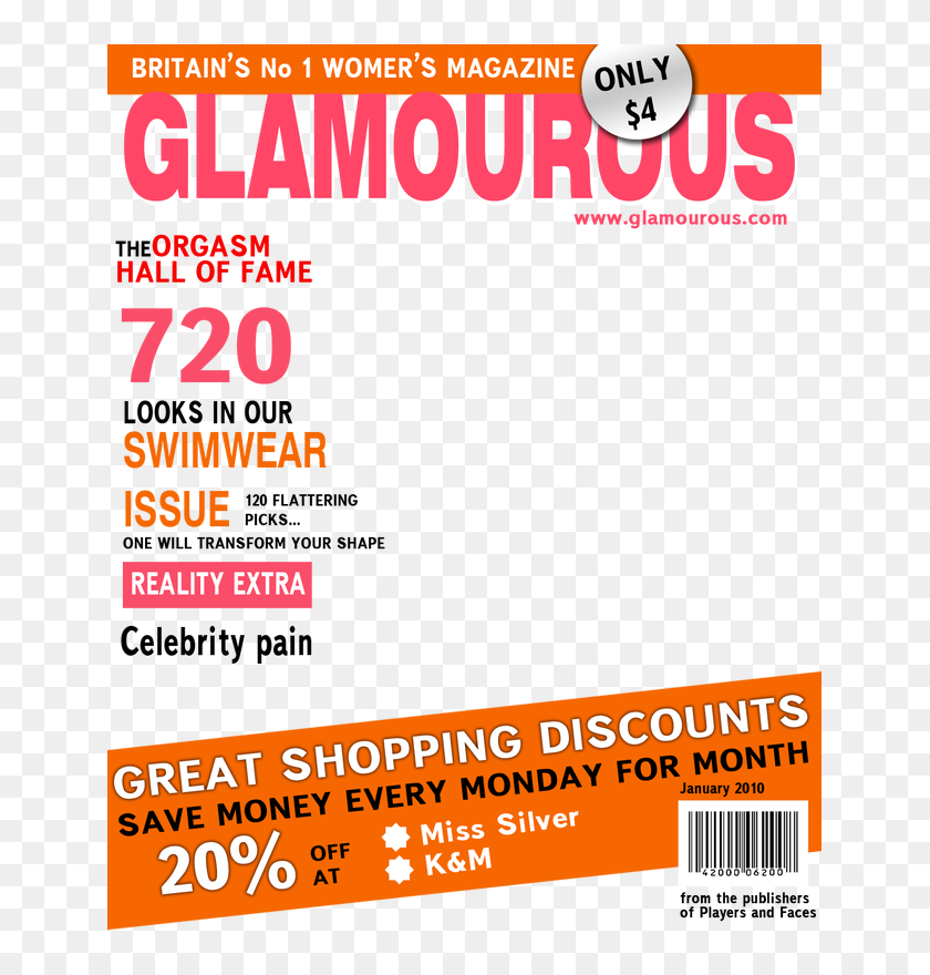 Ms Choy Cover Magazine Template Png Transparent Png 645x800 4540857 Pinpng
