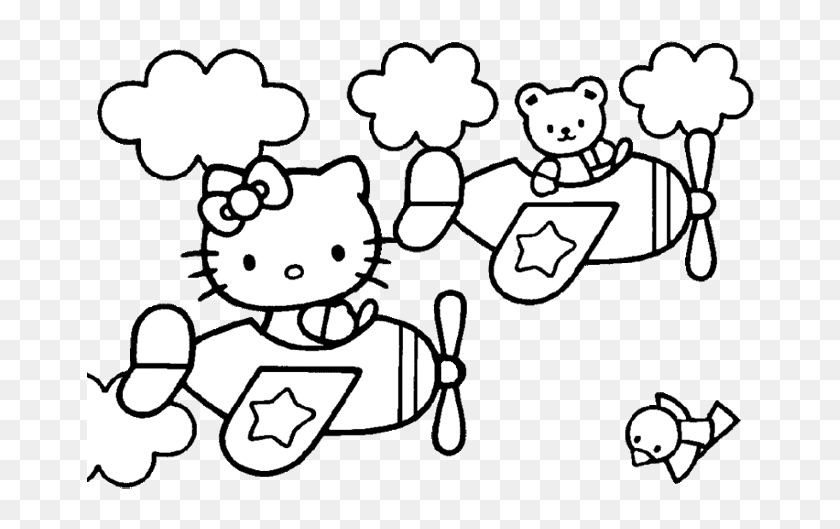 Free Hello Kitty Ballerina Coloring Pages, Download Free Clip Art ... | 529x840