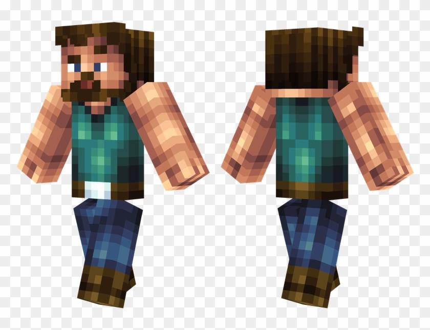 Uber Steve Minecraft Skins Cool Green Hd Png Download 804x576