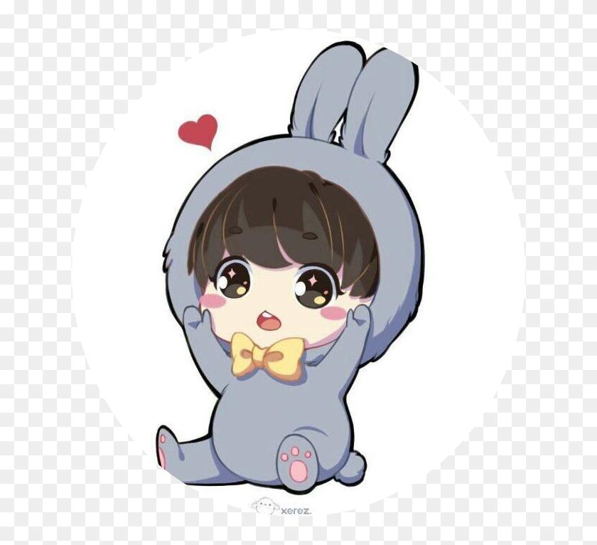 465 4656399 chibi jungkook bts jungkook fanart cute hd png