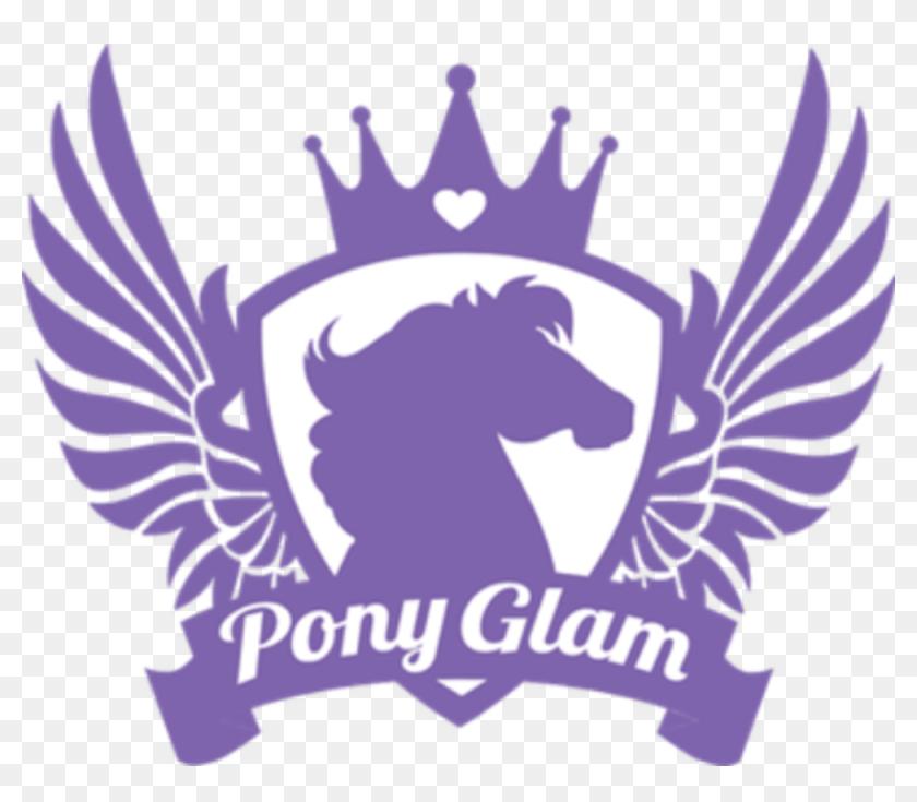 Pony Glam Logo Kuda Poni Hd Png Download 1000x828 4666209 Pinpng
