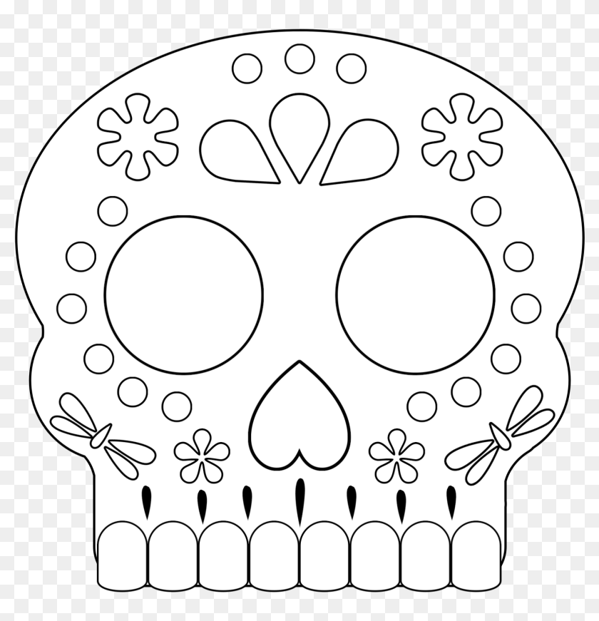 Click The Following Links To Print The Day Of The Dead ...