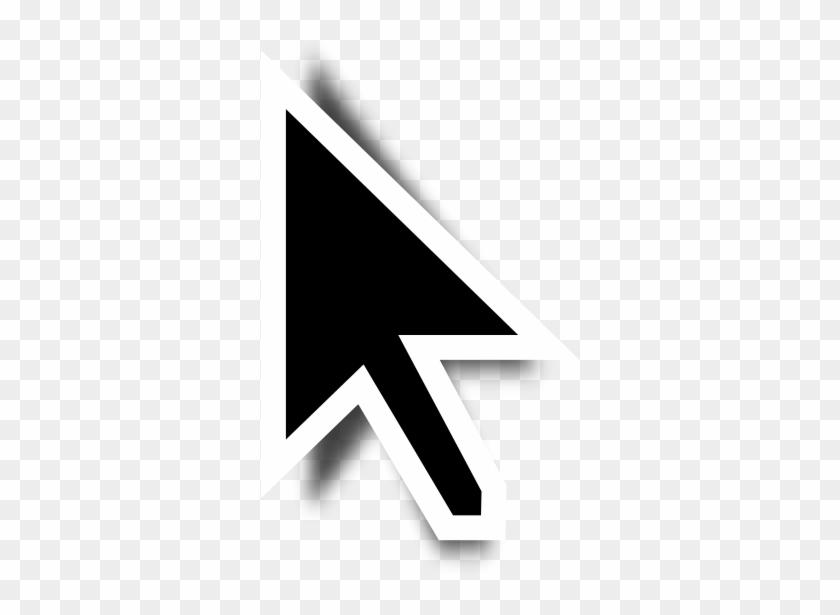 File - Black Cursor - Svg - Transparent Mac Mouse Cursor, HD