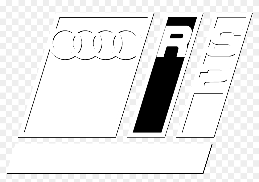 Audi Rs2 Porsche Logo Black And White Graphics Hd Png Download 2400x2400 4849118 Pinpng