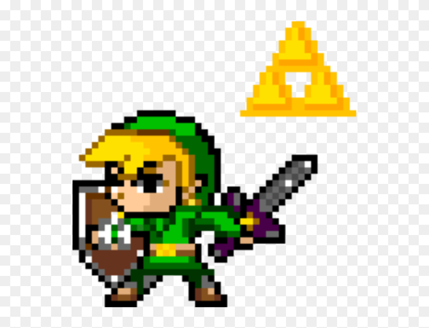 16 Bits Png - Legend Of Zelda Link 8 Bit, Transparent Png