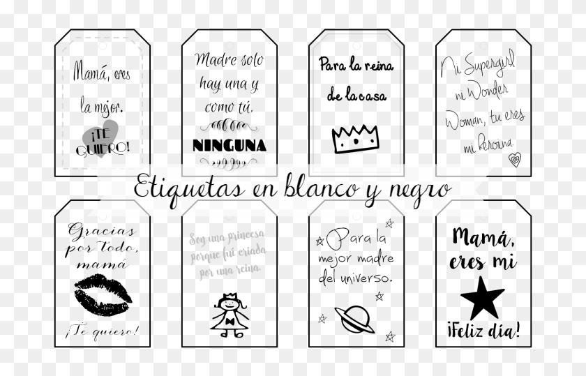 El Rincón De Las Cosas Bonitas Etiquetas De Navidad Blanco