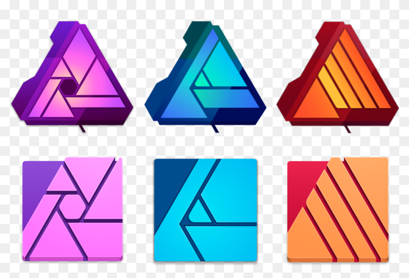 Affinity Apps Release And Beta Icons Old Affinity Designer Icons Hd Png Download 953x619 5046853 Pinpng
