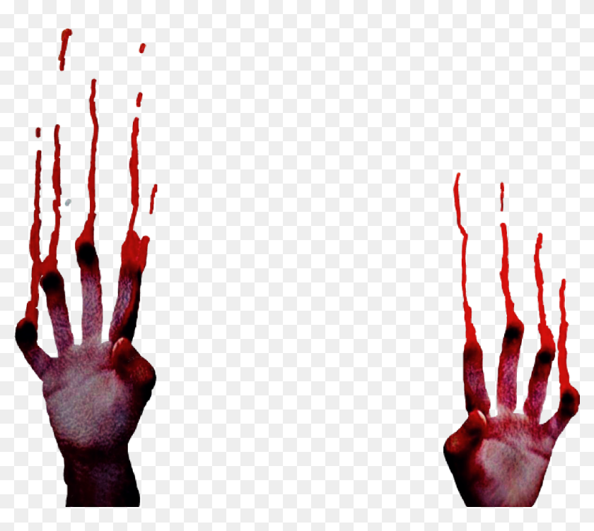 hands #blood #splatter #bloody #drip #halloween #memezasf