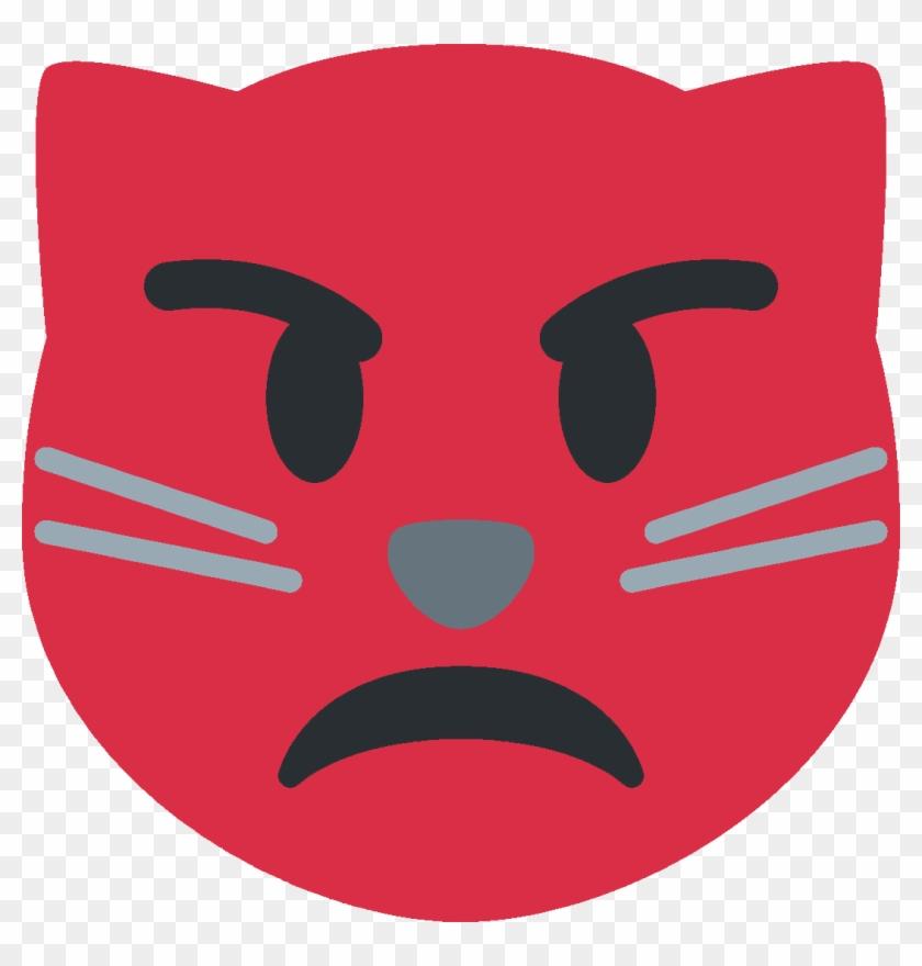 I Need Rage Cat Emoji In The Discord Server Im In,, HD Png