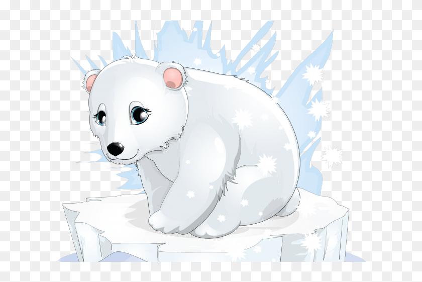 Polar Bear Clipart Ice Bear - Polar Bear Png Clipart