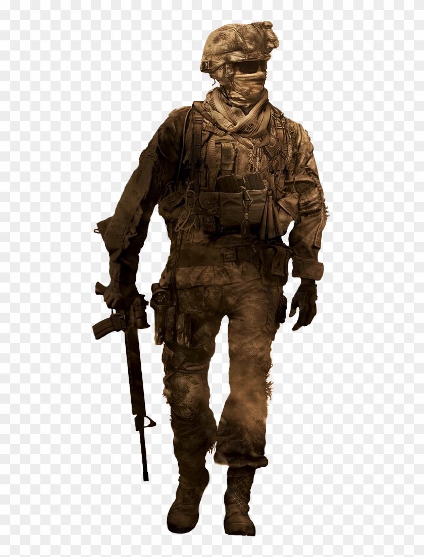 Cod Soldier Png Duty Modern Warfare 2 Transparent Png