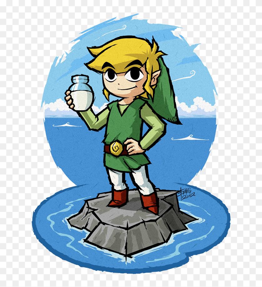 The Legend Of Zelda - Legend Of Zelda Wind Waker Art Style