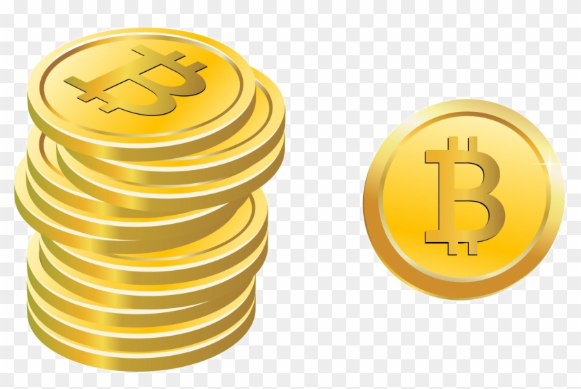 free clipart bitcoin png