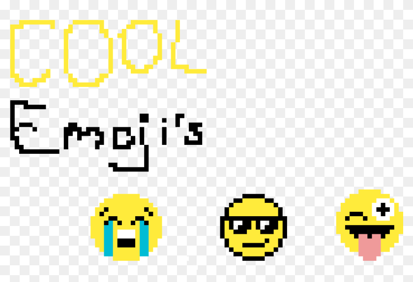 Cool Emojis Virtual Memory Pixel Art Mario Fleur Hd Png