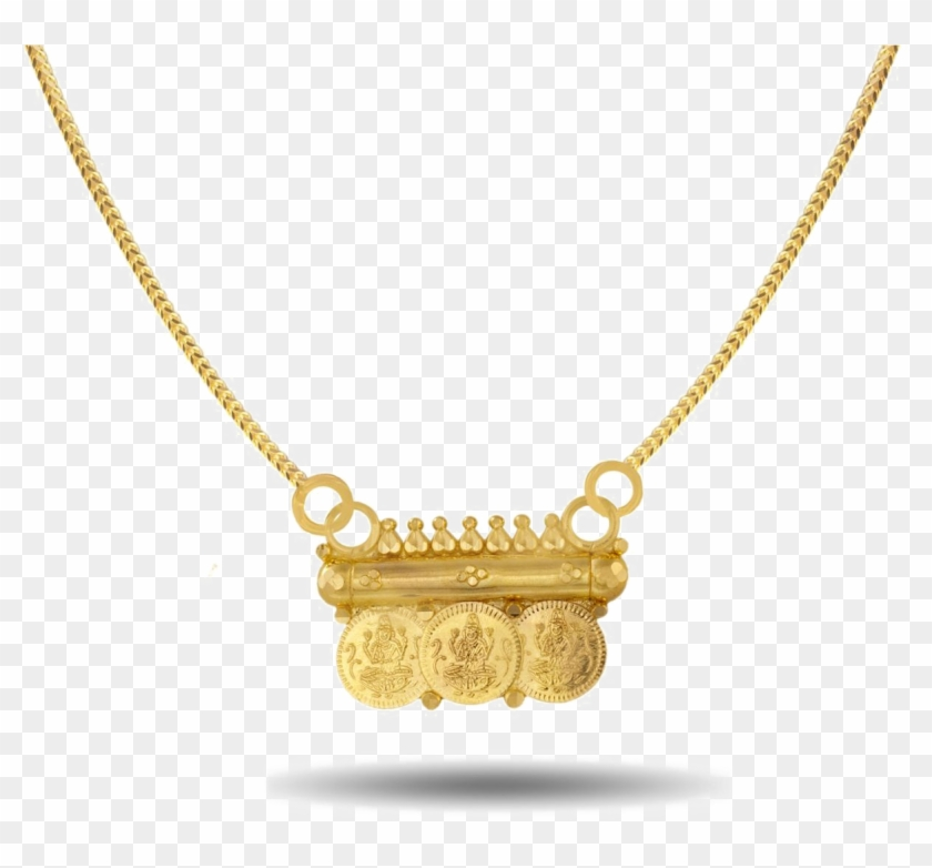 Gold Necklace Png Pic South Indian Mangalsutra Pendant