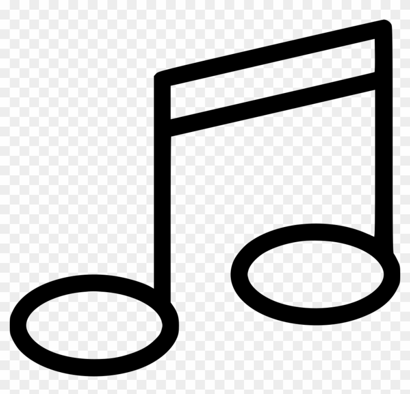 Music Note Comments - Music Note Outline Transparent, HD Png