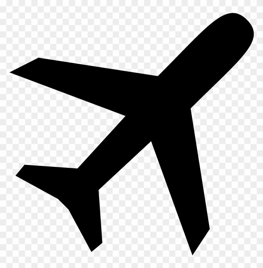 Airplane Flight Plane Icon Symbol Vector Free Vector Aircraft