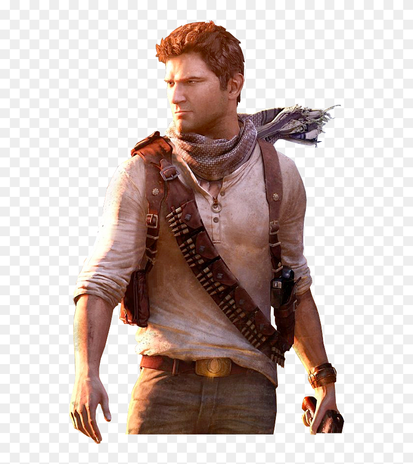 Nathan Drake Render Photo Uncharted 3 Drakes Deception Nathan