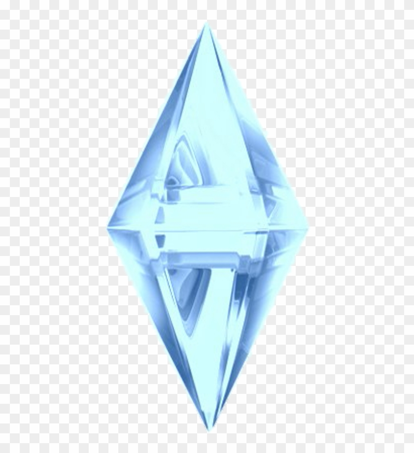 Sims Crystals Crystal Blue Sticker Stickers Tumblr