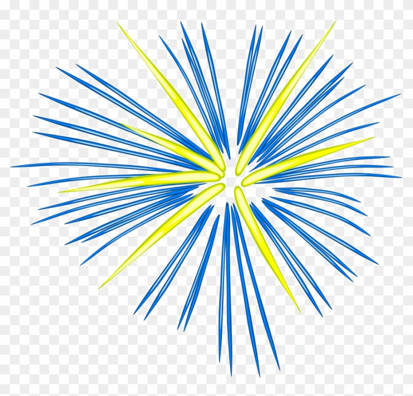 Firework yellow. Fireworks png photo clipart
