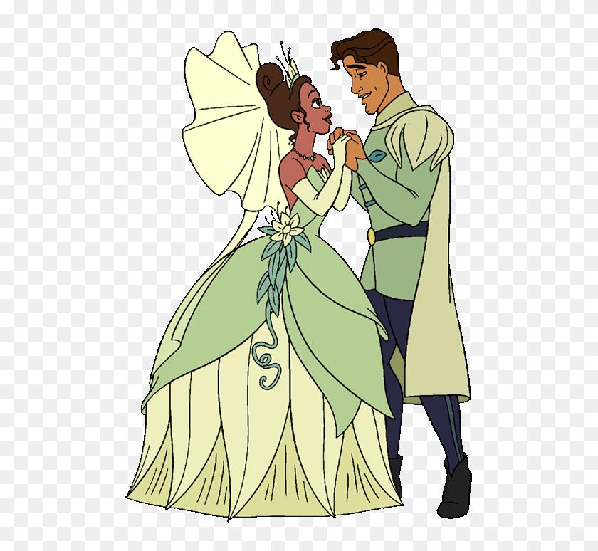 Princess Tiana Frog Princess And The Frog Prince Clipart Hd Png Download 487x694 6020609 Pinpng