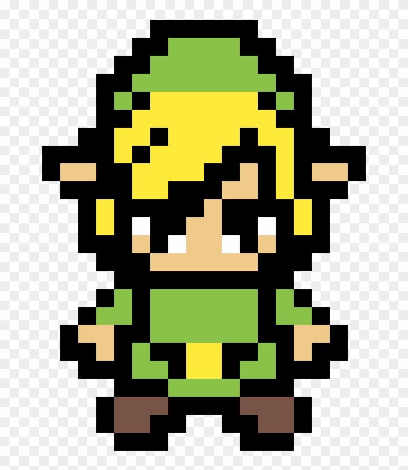 Link From Legend Of Zelda By Pinkkitty604 - Link Zelda Pixel