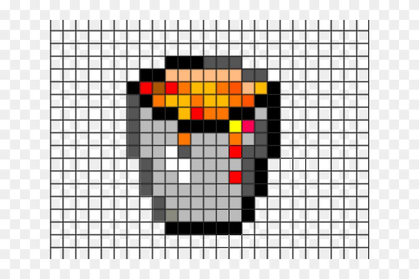 Simple Pixel Art On Grid Hd Png Download 640x480 6305461 Pinpng