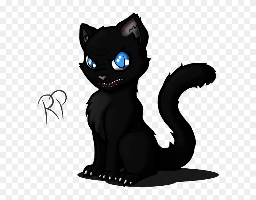 Clipart Wallpaper Blink Evil Black Cat Cartoon Hd Png Download 681x680 6325300 Pinpng