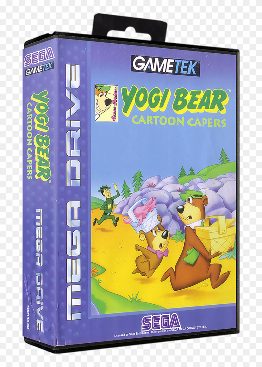 Yogi Bear Megadrive Hd Png Download 729x1134 6341541 Pinpng