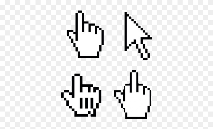 pixel #hand #overlay #hands #arrow #black #white #tumblr