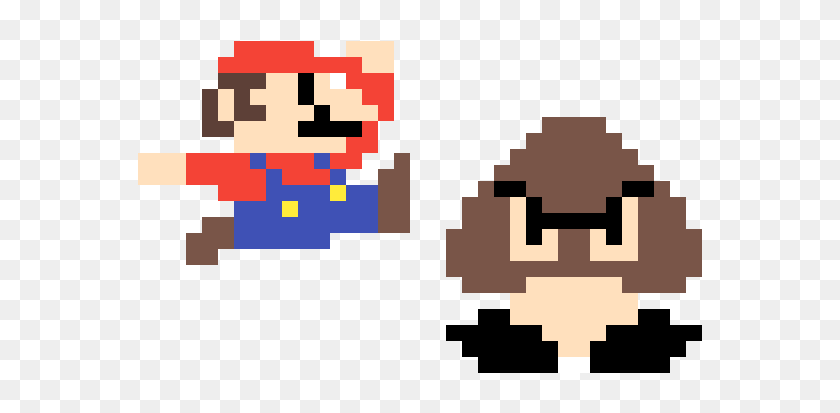 Mario Vs Goomba Super Mario Bros Goomba Sprite Hd Png Download