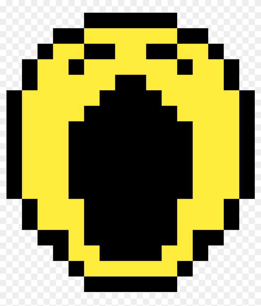 Tired Emoji Pixel Art Smiley Emoji Hd Png Download
