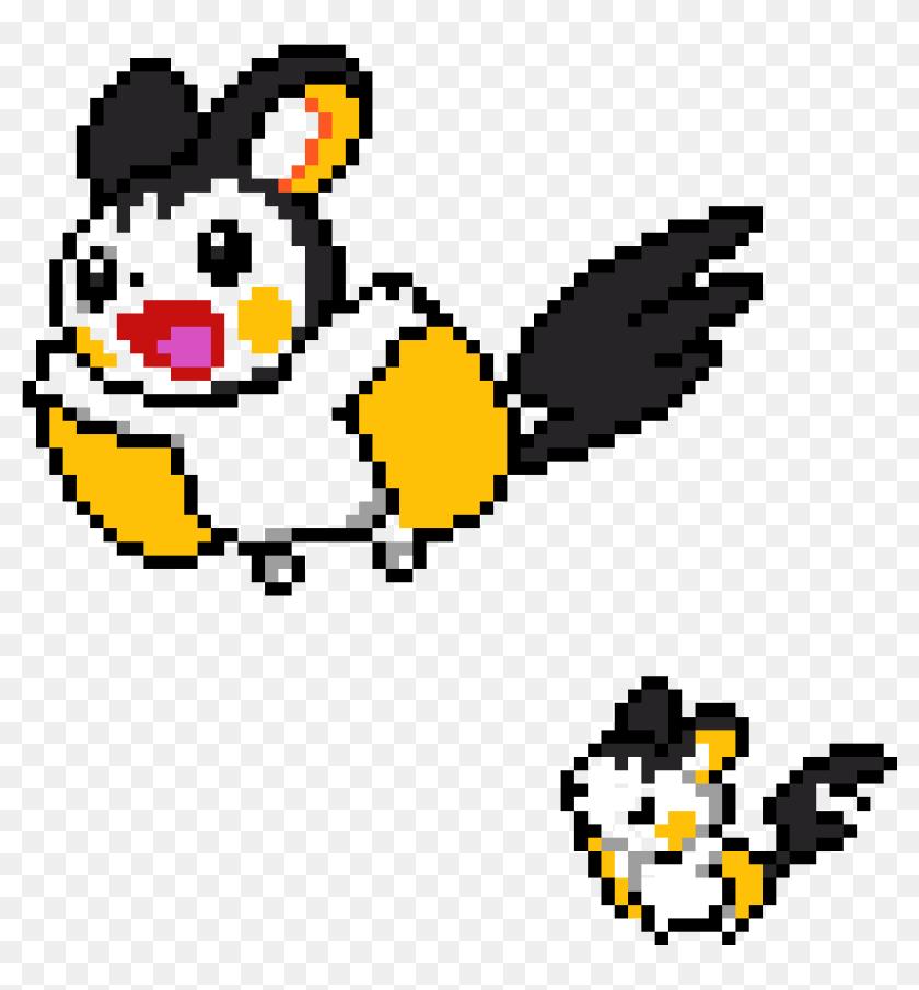 Pokemon Pixel Art Grid Emolga Png Download Minecraft Pixel Art Emolga Transparent Png 1106x1140 6444116 Pinpng
