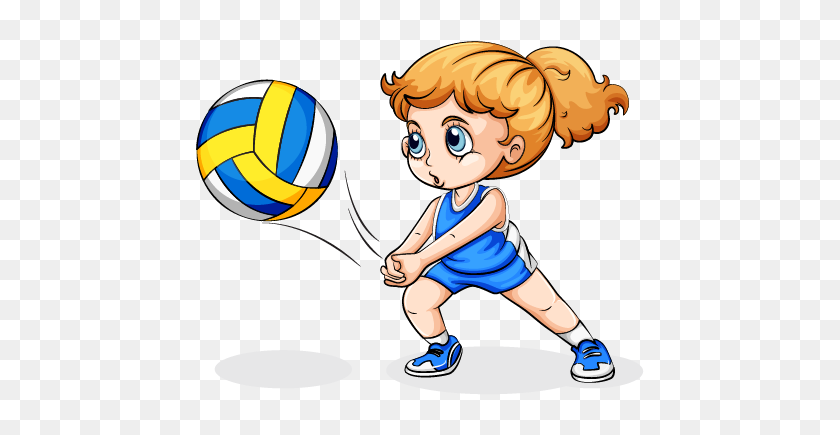 Clipart Volleyball Female Volleyball Player Clipart Transparent Background Sports Hd Png Download 568x565 6476446 Pinpng