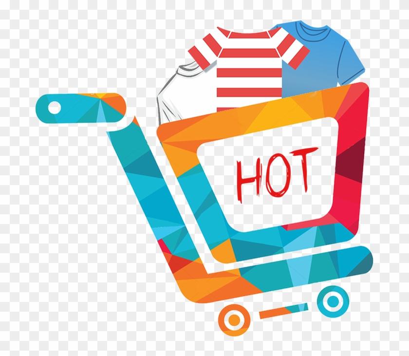 Logo Designing For House Of Tshirts Online Shopping Logo