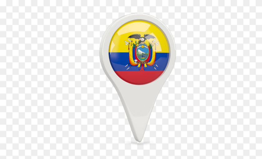 Illustration Of Flag Of Ecuador Ecuador Flag Icon Hd Png Download 640x480 6533471 Pinpng