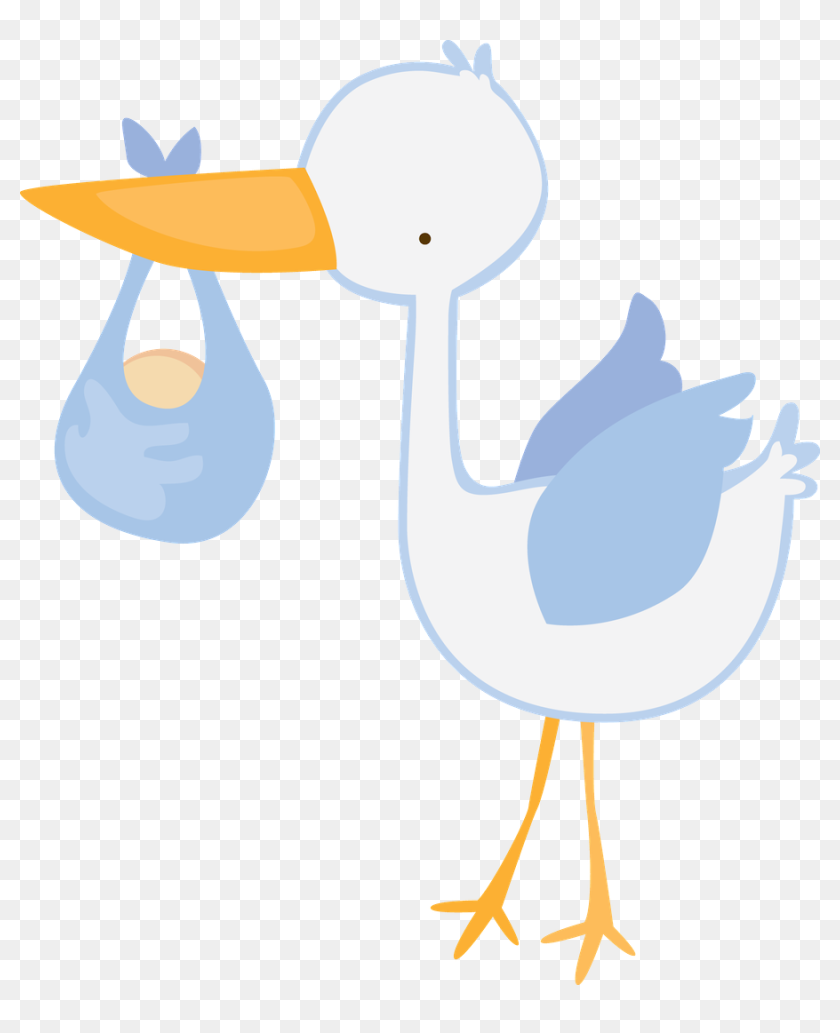 Stork Vector Banner Baby Shower Boy Clipart Hd Png Download 900x1064 6546182 Pinpng