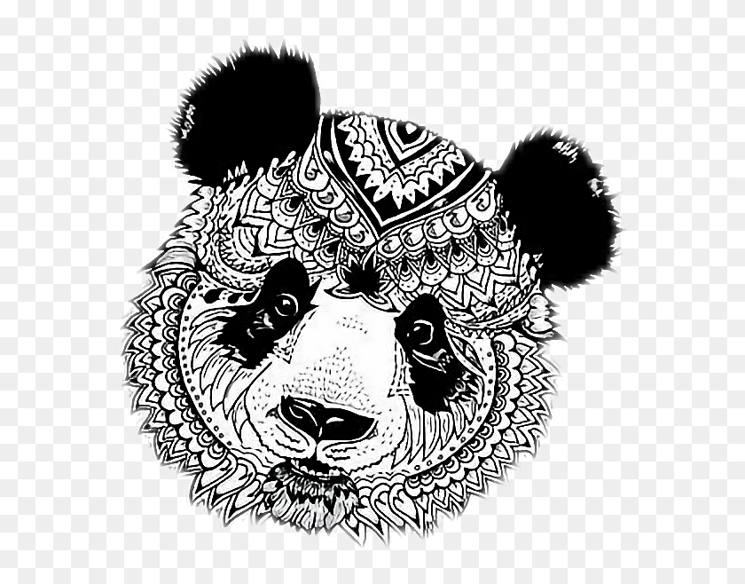 235+ Mandala Panda Svg – SVG,PNG,DXF,EPS include