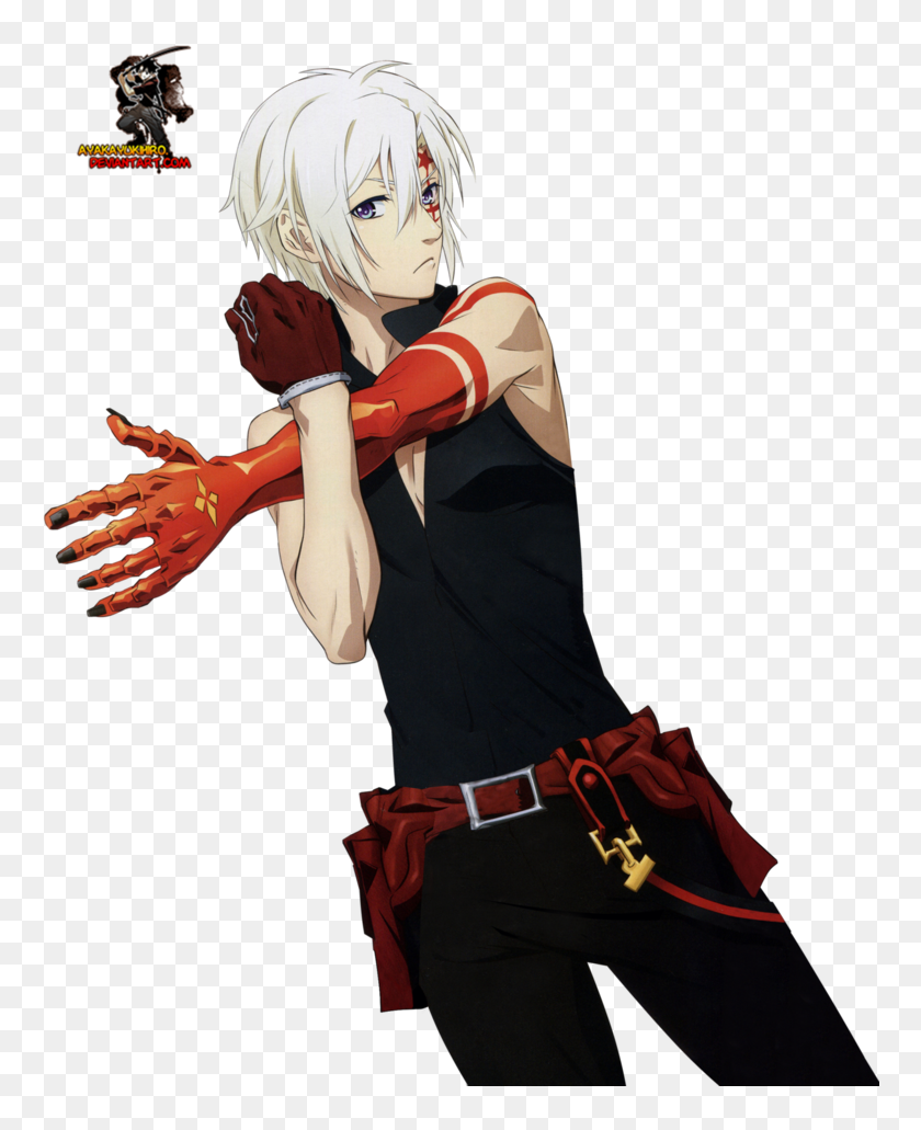Allen Walker Png Allen D Gray Man Hallow Transparent Png
