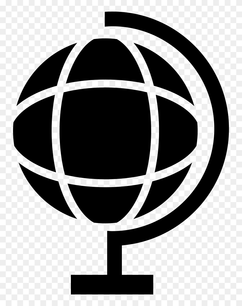 Globe Black And White Png White Transparent Background Internet Icon Png Download 750x980 6563894 Pinpng
