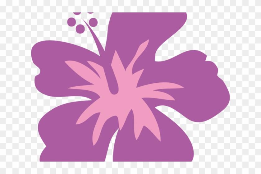 Pink Flower Clipart Moana Flor Havaiana Png Transparent Png