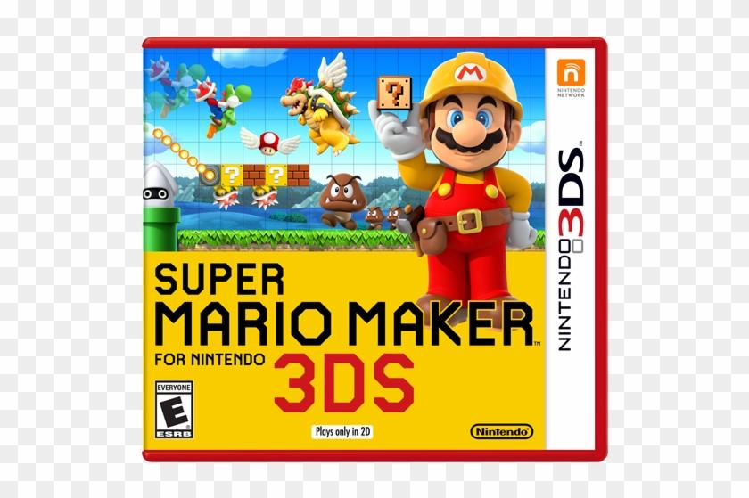 Super Mario Maker For Nintendo 3ds Box Art - Super Mario
