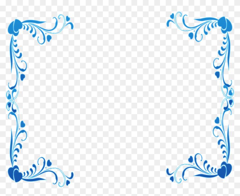 Transparent Blue Border Clipart Simple And Elegant Border Designs Hd Png Download 5217x4024 6720334 Pinpng,Master Bedroom Simple Bedroom Designs India