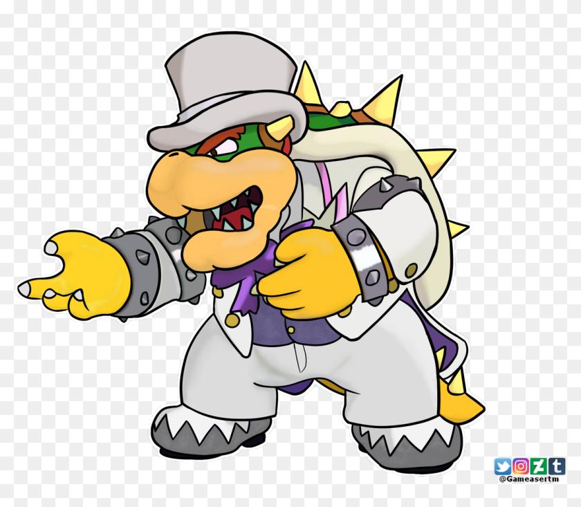 Browser Drawing Mario Bowser Transparent Png Clipart Super Mario