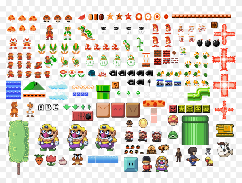 Some Mario Stuff And More By Pokekoks D4wzrc5 Super Mario 2d